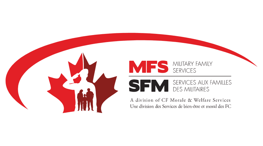 MFS Military Family Services, A division of CF Morale & Welfare Services Logo Vector