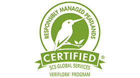 Responsibly Managed Peatlands Certified by SCS Global Services Veriflora Program Logo Vector's thumbnail