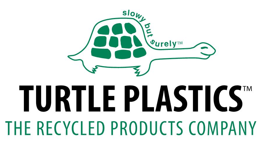 Turtle Plastics Logo Vector