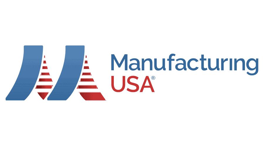 Manufacturing USA Logo Vector