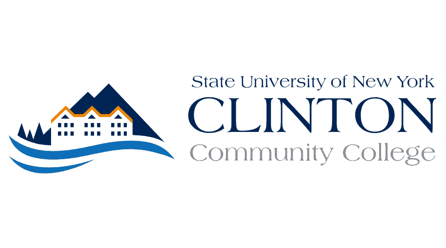 State University of New York Clinton Community College Logo Vector