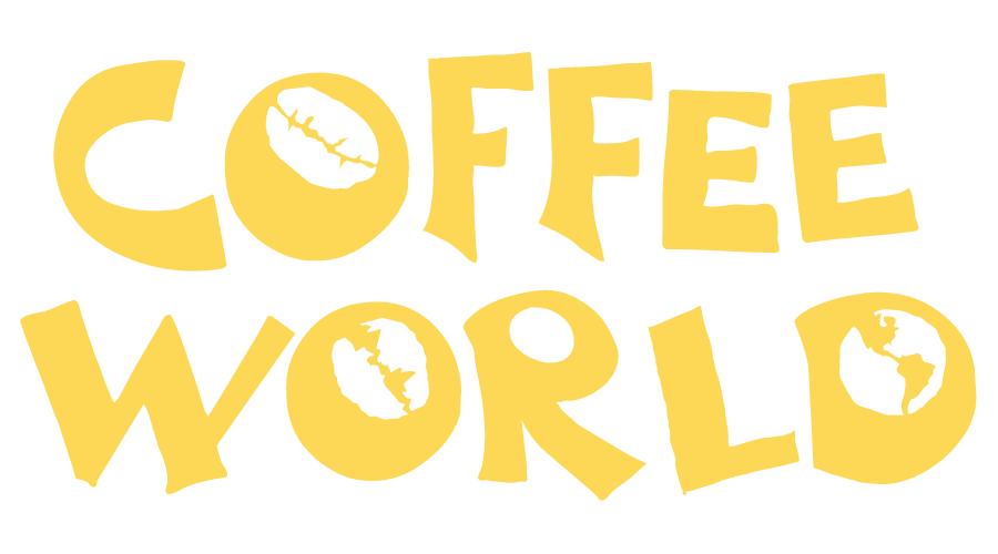 Coffee World Logo Vector