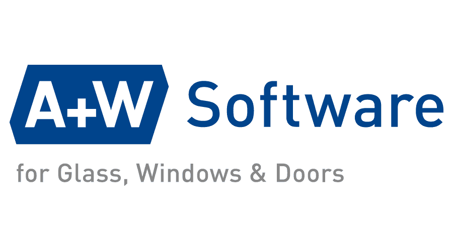 A+W Software for Glass and Windows Logo Vector
