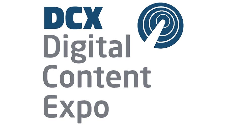 DCX Digital Content Expo Logo Vector