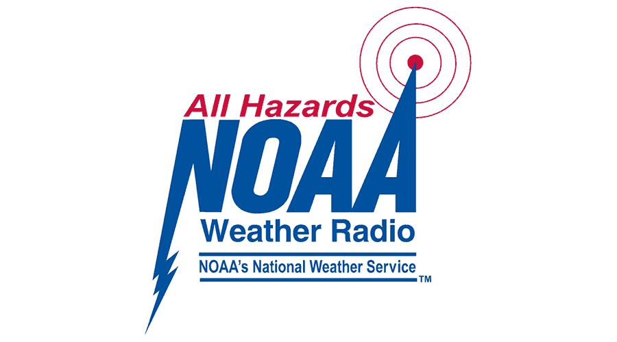 NOAA Weather Radio All Hazards (NWR) Logo Vector