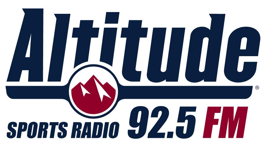 Altitude Sports Radio Logo Vector