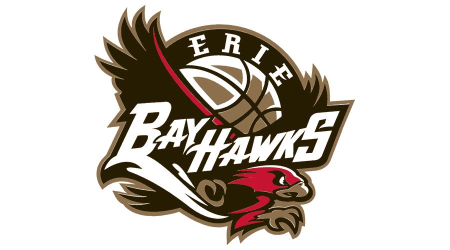 Erie BayHawks Logo Vector