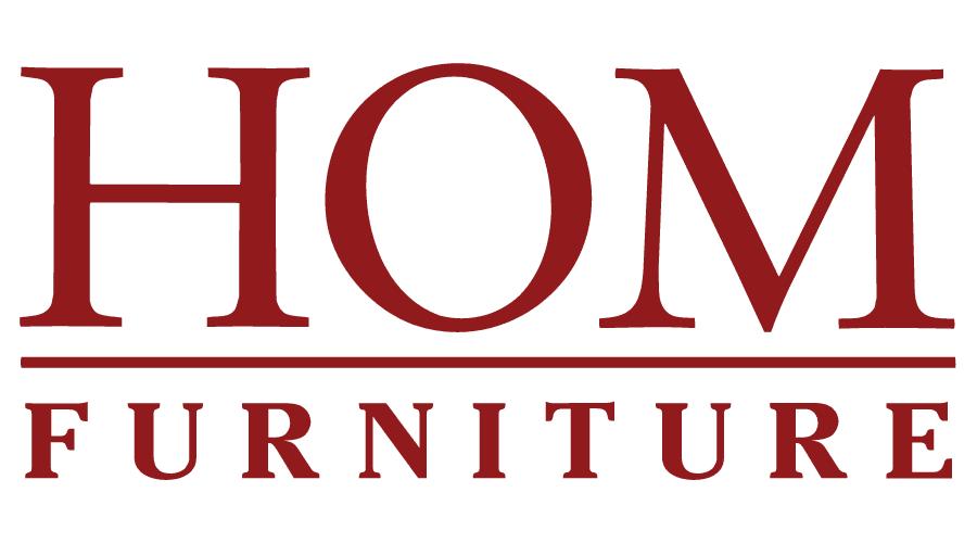 HOM Furniture Logo Vector