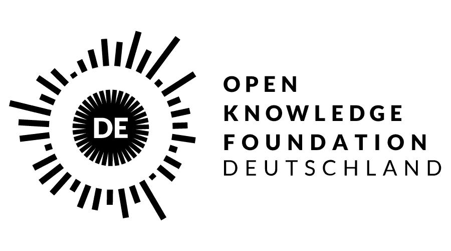 OKF – Open Knowledge Foundation Deutschland e.V. Logo Vector
