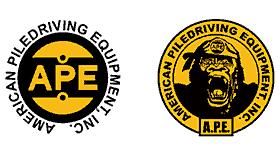 American Piledriving Equipment (APE) Logo Vector's thumbnail