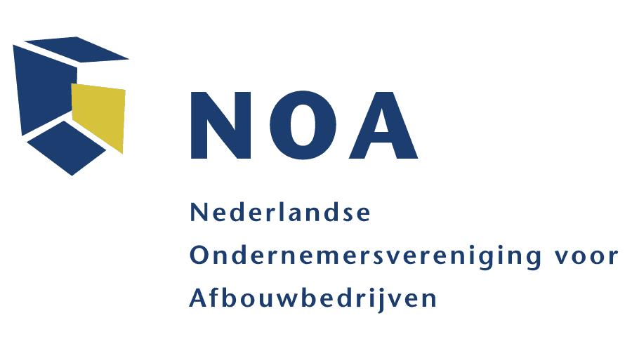 NOA – Nederlandse Ondernemersvereniging voor Afbouwbedrijven Logo Vector