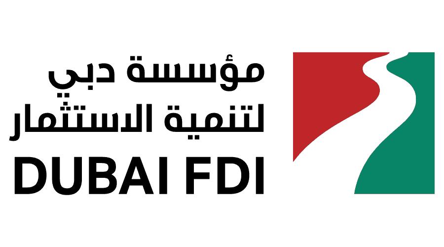 Dubai FDI Logo Vector