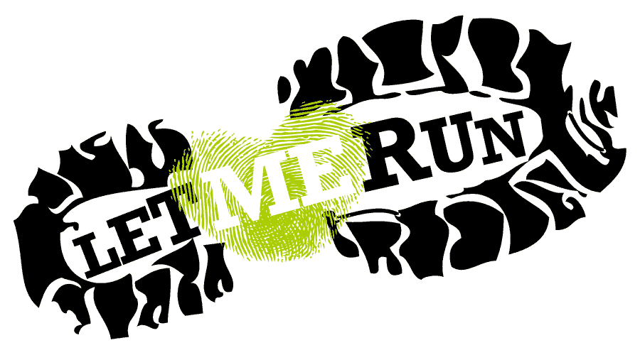 Let Me Run Logo Vector