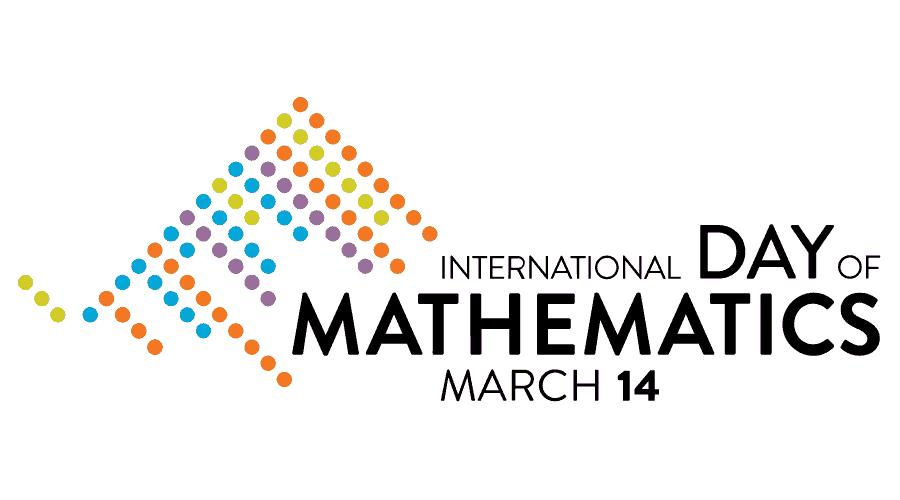International Day of Mathematics (IDM) March 14 Logo Vector