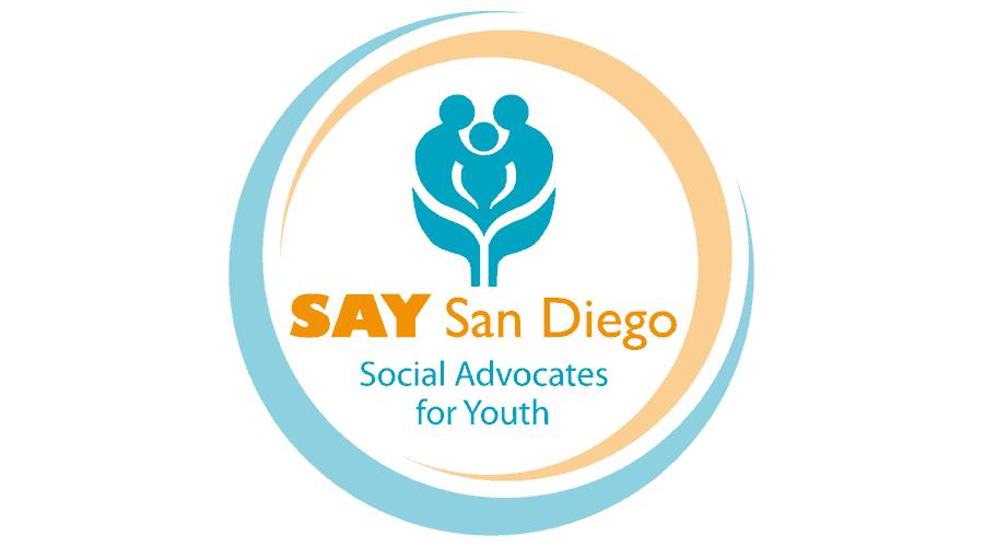 SAY San Diego Logo Vector