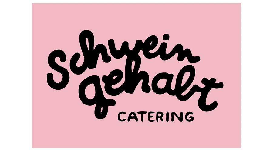 Schwein gehabt Catering Logo Vector